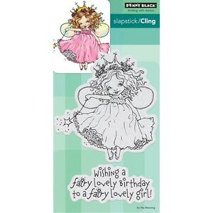 """Penny Black Cling Stamps - Fairy Birthday 4""""X5.9"""""""