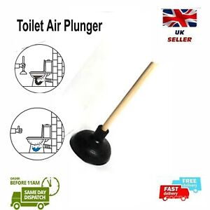 Toilet Air Plunger Instant Solution for Sink Drains & Clogged Toilets
