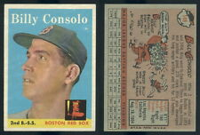 (47062) 1958 Topps 148 Billy Consolo Red Sox-EM