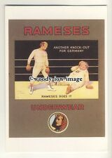 ad0431 - Rameses Underwear - Men Boxing - Knock Out - Modern Advert Postcard