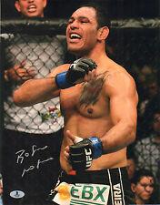 ANTONIO ROGERIO NOGUEIRA SIGNED AUTO'D 11X14 PHOTO BAS COA UFC 140 PRIDE NOG E