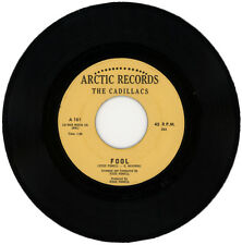 """THE CADILLACS  """"FOOL c/w THE RIGHT KIND OF LOVIN' """"   NORTHERN SOUL   LISTEN!"""