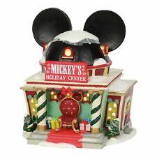 Dept 56 Disney Village New 2019 MICKEY'S HOLIDAY CENTER 4059626 Mickeys