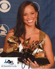 ALICIA KEYS AUTOGRAPH SIGNED 8X10 PHOTO GRAMMY AWARD WINNER MUSICIAN COA