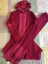 Naartjie 10 2014 Jasmine Jingle Sweater hooded fair isle dress & leggings