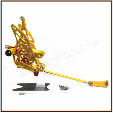 Foot Rest Rearset Rear Sets Foot Pegs YAMAHA FZ1 2006- 2013 FZ8 2010-2013 GOLD