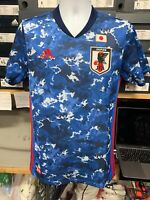 Adidas Japan Home Soccer Jersey 2020 Limited Edition Blue White Red Size L ONLY