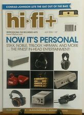 Hi Fi + July 2016 Now it's Personal Stax Noble Trinity Audio FREE SHIPPING sb