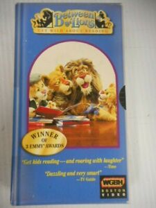 PBS Kids Between The Lions Hay Day VHS Starring Long A Sound Reading Learning