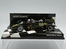 Minichamps 1:43 Elio de Angelis Lotus Renault 95T # 11 F1 1984 + JPS decals new