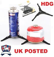 GAS CANISTER CAN STAND CAMPING STOVE BOTTLE LANTERN BLOW TORCH