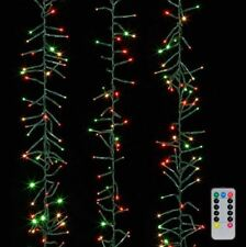 Raz Cluster 1300 Red, Green, Warm White Christmas Lights 00004000  44' ft Remote G3837085