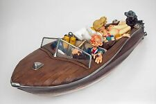 Guillermo Forchino Comic The Playboy Boat collection Figurine Sculpture Statue