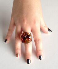 Antica Murrina Air--Murano Glass Fashion Ring