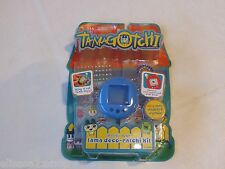 Tamagotchi RARE Gotchi Gear Tama Deco Ratchi Kit case stickers crystals blue NEW