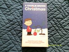 VHS - A Charlie Brown Christmas - Brand New, Never Opened