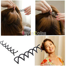 10Pcs Women Hair Spiral Spin Screw Bobby Pin Hair Clip Twist Barrette Easy Use