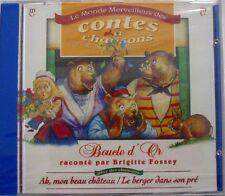 BRIGITTE FOSSEY (CD) BOUCLE D'OR - NEUF SCELLE