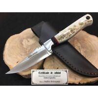 """""""OFERTA"""" CUCHILLO ISIDRO EXPOSITO BUFALO/CIERVO-knife,couteau,coltello,Messer"""