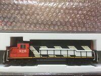 ATLAS 1/160 N SCALE CANADIAN NATIONAL EMD GP40 DC RD # 9316 # 40001904 F/S