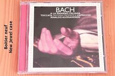Bach Toccata Capriccio Fantaisie chromatique - Alessandrini - CD Opus 111