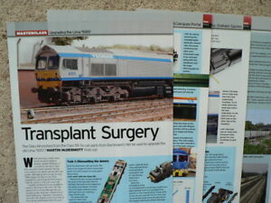 Upgrading Lima Class 59/0 using Bachmann Class 66 - Model Rail magazine article