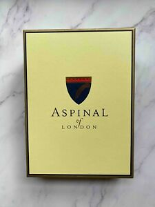 Aspinal Of London Refillable Envelope Wrap Brown Leather Journal A5