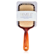 Wide Hair Brush Womens Paddle Detangling Cushion TORTOISESHELL  Hairbrush Large