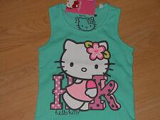 Hello Kitty super süsses Top Größe 98 türkis /100% Baumwolle