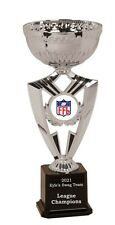 SILVER CUP FANTASY FOOTBALL CHAMPION FFL TROPHY FREE ENGRAVING   FAST SHIPPING