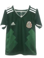 Adidas Rusia 2018 Mexico Soccer Jersey Boys (6)