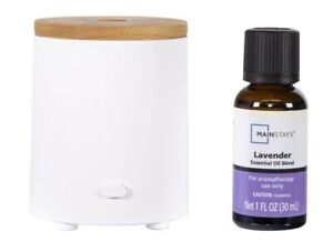 Mainstays Travel Essential Oil Fan Diffuser Set With Lavender Aromatherapy *NEW*