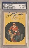 1962 1963 PARKHURST Gillies Tremblay AUTO PSA DNA RC ROOKIE AUTOGRAPH SIGNED #46