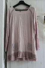Tunika, Shirt, CREAM, Rosa, Gr. 44, Neu