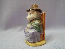 Vintage Beswick Beatrix Potter And This Little Pig Had None Piggy  Figurine