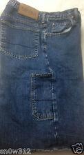 Mens Size 32 NAUTICA Jeans Co Blue Denim Carpenter Shorts Utility Hammer Loop