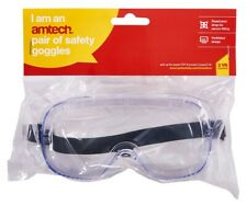 Clear Safety Goggles Glasses Eye Wear Protection New Builder Diy Construction