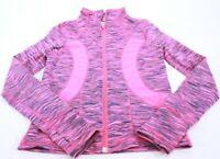 90 Degree Girl's Long Sleeve, Full Zip, Pink Jacket Size S