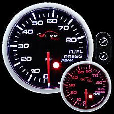 Manometro Strumento 52mm DEPO Pressione Benzina 0-6 BAR Allarme + PICCO