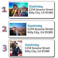30 Custom Photo Address Labels Personalized Return Mailing Any Picture