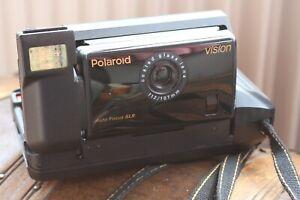 POLAROID VISION Instant Camera - Cased- Rare- Auto Focus SLR- Made in USA