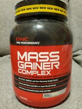 Mass Gainer Complex GNC Pro Performance 6 Servings 2.5 lbs.