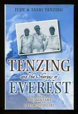 Judy & Tashi Tenzing - Tenzing & the Sherpas of Everest; SIGNED & DATED 1st/1st