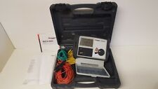 Megger DET3TD Earth Tester Case and Kit Ground Resistance Tester (genuine)