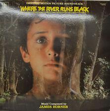 "ORIENTE - SOUNDTRACK - WHERE THE RIVER RUNS NEGRO - JAMES HORNER 12"" LP (M889)"