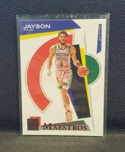 2020-21 Panini Court Kings Jayson Tatum Maestros Red 149