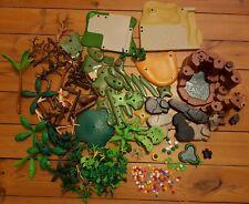 Riesige Playmobil Natur-Sammlung Bäume Blumen Pflanzen Felsen Wald Urwald Büsche