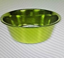 Platinum Pets Stainless Steel Extra Heavy Dish - Corona Lime