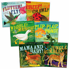 Indestructibles Wordless Animal Book Set  - Set of 6