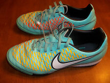 Nike Magista Soccer Shoes Blue Orange Yellow Womens sz 7.5 Excell FREE SHIPPING